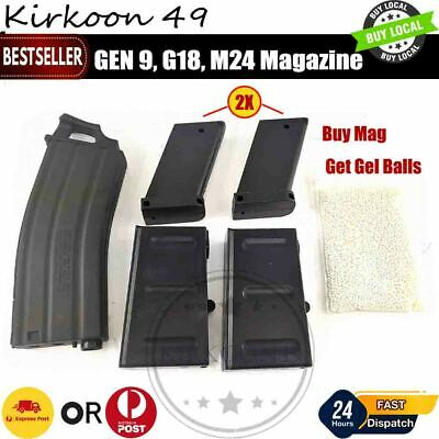 AU9.95 • Buy Magazine Holder Clip Mag Fed Gen 9 J10 GJ M24 SKD SCAR White Gel Blaster 7-8mm