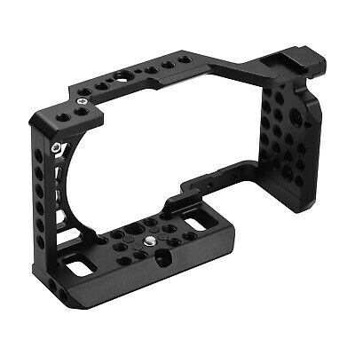 $ CDN53.65 • Buy Aluminum Alloy Camera Cage Rig For So Ny A6000/A6100/A6300/A6400/A6500 Cam R7D4