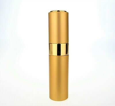 £3.75 • Buy Twist-Up Spray 10ml Perfume Travel Atomiser Gold With Funnel