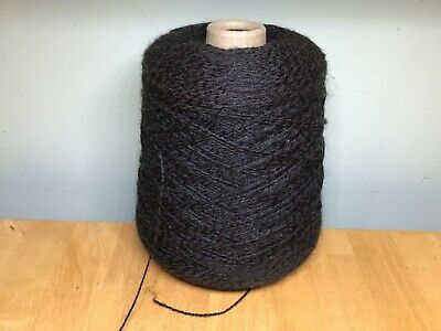 Cone Black Yeoman Panama (Easy Knit) 4-Ply Cotton/Acrylic Hand/Machine Yarn 559g • 6£