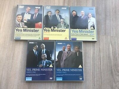 Yes Minister And Yes Prime Minister - Complete Collection [DVD] - VGC • 5£