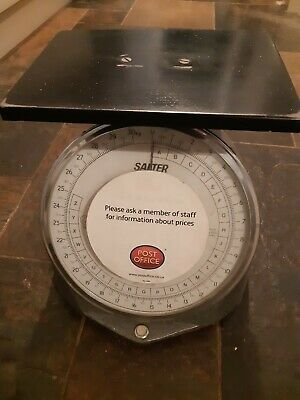 Old Salter Post Office Scales Made In England • 25£