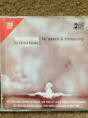 Meditation Cd For Peace And Tranquility 2disc Set • 0.99£
