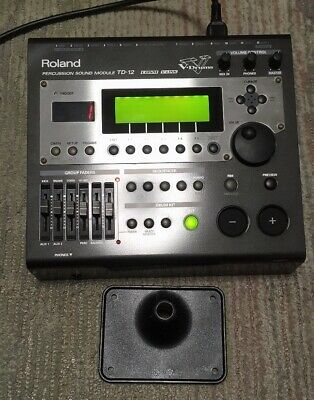 AU524.99 • Buy Roland TD-12 Sound V-Drum Electronic Drum Sound Module