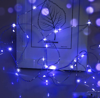 Fairy Lights For Girls Bedroom,Cshare 50 LEDs 5m/16.4ft Battery Operated Fairy • 8.40£