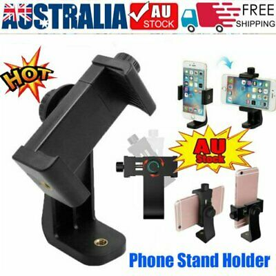 AU9.38 • Buy Universal Smartphone Tripod Adapter Phone Stand Holder Mount For IPhone Samsung@