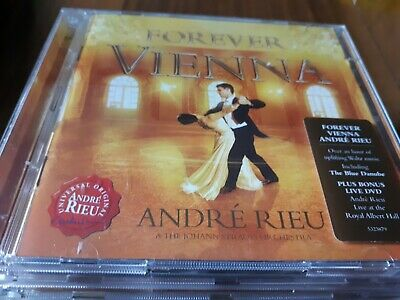 Andre Rieu - Forever Vienna - Cd Album  With Dvd 2009 • 3.99£