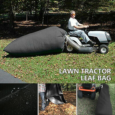 AU49.89 • Buy Lawn Tractor Leaf Bag Mower Catcher Riding Grass Sweeper Rubbish Bagger