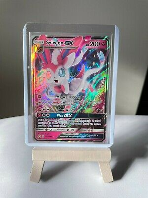 AU9.95 • Buy Sylveon GX 92/145 - Guardians Rising - Promo Pokemon Card - Holo Rare