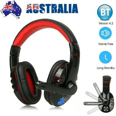 AU34.65 • Buy Bluetooth Wireless Gaming Headsets Headphones Earphone With Mic For Xbox PC PS4