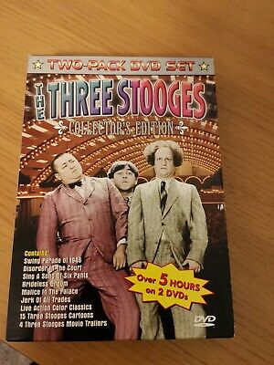 The Three Stooges - Collectors Edition DVD Boxset, Good DVD, , • 2.99£