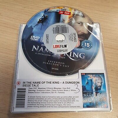 £2 • Buy DISC ONLY - In The Name Of The King - A Dungeon Siege Tale DVD Jason Statham