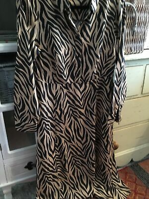 M&S Animal Print Dress Size 12, Ex Condition • 10£