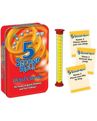 AU19.99 • Buy 5 Second Rule Game