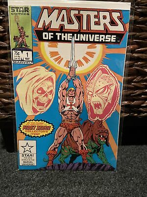 $9.99 • Buy Marvel/Star Comics Masters Of The Universe #1 (1986).  Signed By Mike Carlin.
