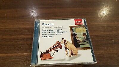 Puccini:la Boheme [Highlights By James Levine | CD | Condition Very Good • 0.33£