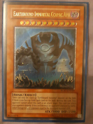 Yugioh Ultimate Rare Earthbound Immortal CCapac Apu + Secret Rares • 19.99£