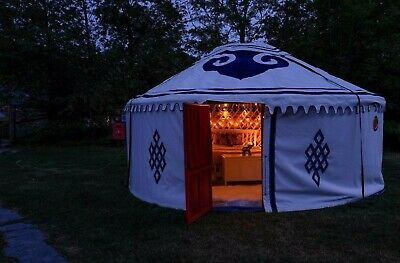 £4448 • Buy Beautiful Mongolian Yurt 5m Diameter No Planning Permission Party Perfect Events