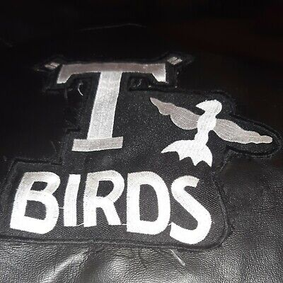 Used Once Grease T-birds Jacket Fancy Dress Costume Accessory Boys Marked Large  • 1.50£