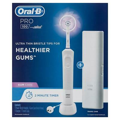 AU58 • Buy Oral-B Pro 100 Gum Care Electric Toothbrush - White