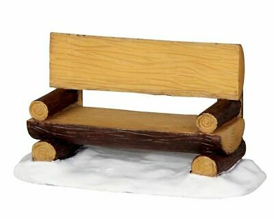 £4.79 • Buy Lemax Christmas Village Log Bench 34617 Accessory