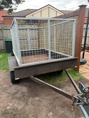 AU150 • Buy 6 X 4 Trailer With Cage