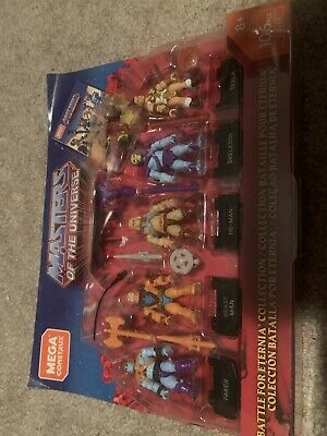 $17.99 • Buy Mega Construx Masters Of The Universe MOTU Battle For Eternia Collection 5-Pack