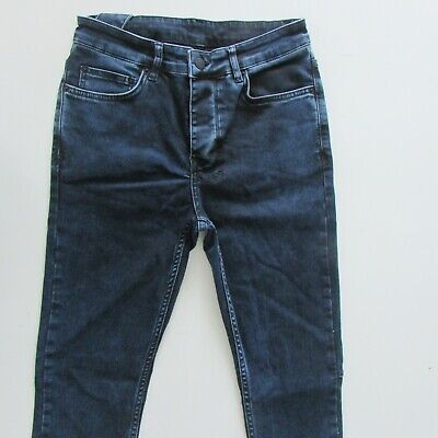AU59.95 • Buy Ksubi Jeans Mens Size W30 L32 Dark Blue Skinny Fit Denim Button Fly