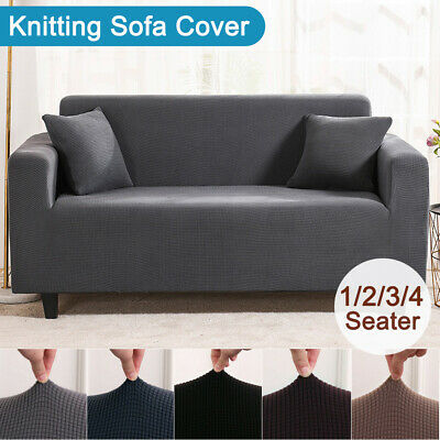 AU23.95 • Buy Super Stretch Couch Covers Sofa Covers Slip Covers Soft Thick 1/2/3/4 Seater NEW