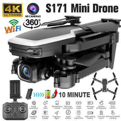 AU57.99 • Buy Drones With HD Camera 4K Follow Me Wifi FPV Quadcopter Drone Altitude UAV RC