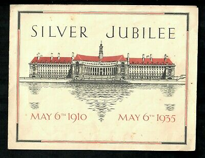Silver Jubilee  King George V Leaflet To The Children Of Britain 1935 • 1.99£
