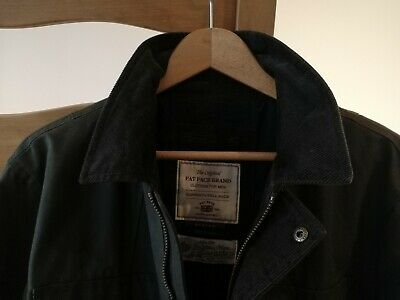 Great Condition Fat Face Millerain Waxed Jacket Mens Medium Barbour Style • 20£