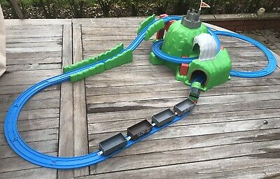 Percy And Troublesome Trucks Rollercoaster Mountain  Thomas Tomy Trackmaster • 15£