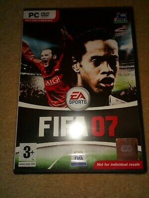 FIFA 07 2007 Pc DVD Rom Football NEW & SEALED - Fast Post • 4£