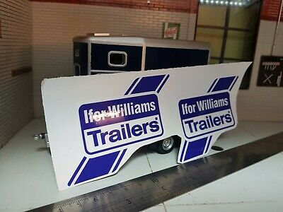Ifor Williams OEM Livestock Tipping Tiltbed Trailer Mudguard Decals Stickers X2 • 9.95£