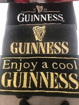 Guinness Bar Towels X 3 Different • 2.90£