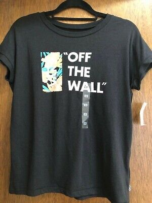 Vans Women's Tropical Off The Wall Tee - Size XS **New With Tags** • 2.99£
