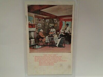 Home Sweet Home - Valentine Series - Printed Postcard - Unposted • 7.50£