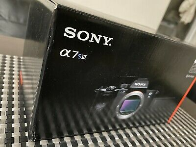 $ CDN3930.33 • Buy Sony A7S III Brand New Never Opened - In Hand FAST SHIP Trusted Seller
