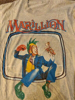 Mens Marillion Tour T-shirt With Motif Size Small Very Rare • 30£