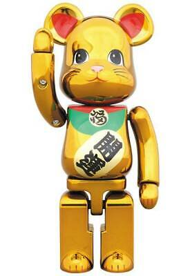 $277.71 • Buy Bearbrick Tokyo Sky Tree Solamachi Medicom Toy Beckoning Cat Super Alloy Gold
