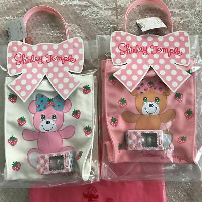 $261.85 • Buy Bearbrick Tote Bag Set Shirley Temple Pink Brown 2 Body BE@RBRICK 100% Limited