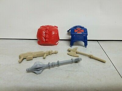 $6 • Buy Vintage Masters Of The Universe ( MOTU Or He-Man) Weapons And Armor Lot Of 5