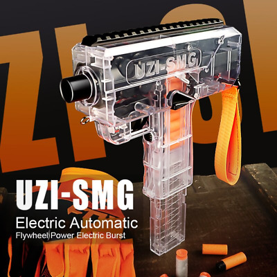 AU55.99 • Buy MP7 DART BLASTER [FULL-AUTO] [Strong Motor] [Fits Nerf] [USB Charge] [AU STOCK]