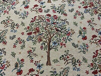 Partridge Tree  Tapestry Designer  Cotton 140cm Wide Curtain/Upholstery Fabric • 19.99£