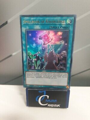 AU9.01 • Buy COTD-EN062 Spellbook Of Knowledge Ultra Rare 1st Edition Yugioh VLP+