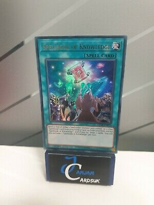 AU8.99 • Buy Yugioh Spellbook Of Knowledge MP18-EN076 Ultra Rare 1st Edition NM