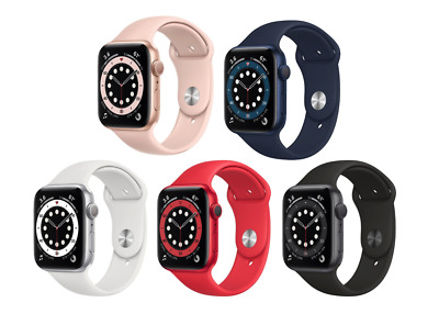 $ CDN534.99 • Buy Apple Watch Series 6 40/44mm GPS Aluminium Case With Sports  Band ✤ NEW SEALED ✤