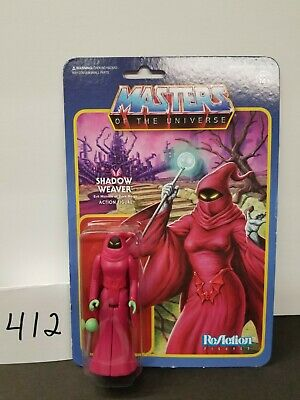 $20 • Buy SHADOW WEAVER ReAction Super7 3.75  Figure Funko Masters Of The Universe MOTU