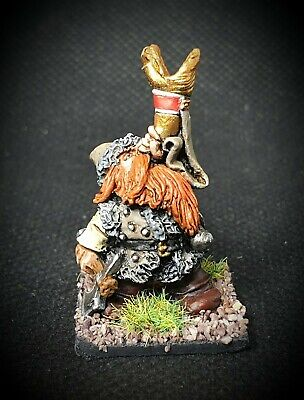 25mm Painted Metal Bugmans Rangers Dwarf Trumpeter Oldhammer Games Workshop... • 9.50£